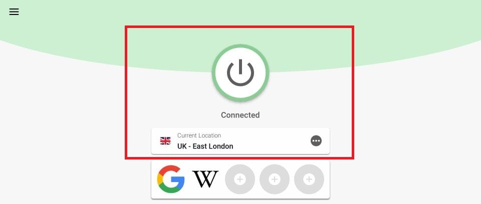 sambungkan vpn ke server uk